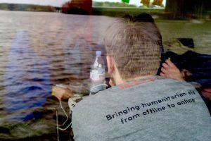 Das Startup Boat in Berlin, April 2016. Bild: Paula Schwarz / Startup Boat