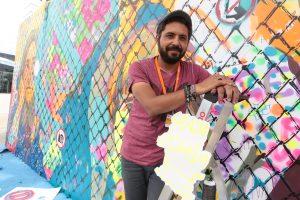 Der ägyptische Künstler Ammar Abo Bakr