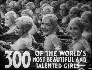 Bild: Standbild aus dem Trailer zum Hollywood-Musicalfilm Footlight Parade von 1933