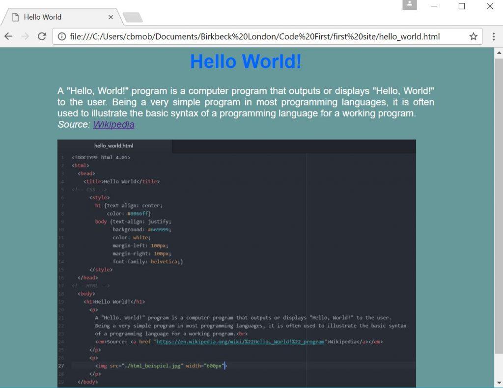 HTML_Beispiel