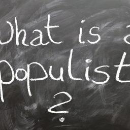 """<span style=""""color: #55d6d2;"""">Teil 1: Populismus und politische Bildung / Gesellschaftswissenschaft-liche Theorien</span>"""